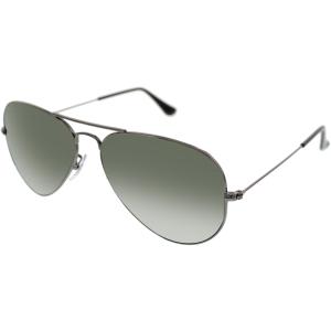 Ray-Ban Men's Aviator RB3025-W0879-58 Gunmetal Aviator Sunglasses