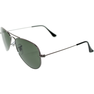 Ray-Ban Men's Aviator RB3044-W3100-52 Gunmetal Aviator Sunglasses