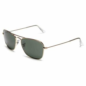 Ray-Ban Men's Caravan RB3136-004-55 Gunmetal Aviator Sunglasses