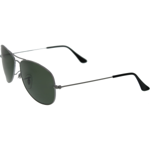 Ray-Ban Men's Cockpit RB3362-004-59 Silver Aviator Sunglasses