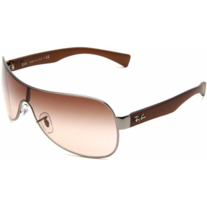 Ray-Ban Women's Gradient  RB3471-029/13-132 Brown Shield Sunglasses