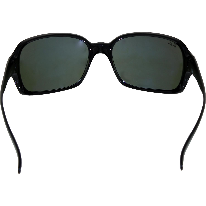 Ray-Ban Women's Highstreet RB4068-601-60 Black Oval Sunglasses