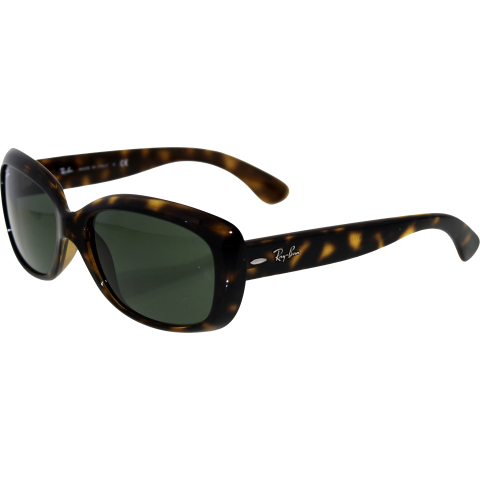 Ray-Ban Women's Gradient Jackie Ohh RB4101-710-58 Brown Butterfly Sunglasses
