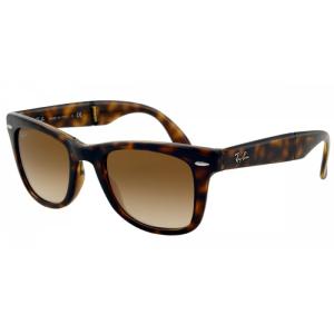 Ray-Ban Women's Wayfarer RB4105-710/51-50 Brown Wayfarer Sunglasses