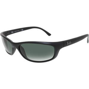 Ray-Ban Men's Active RB4115-601S/71-57 Black Wrap Sunglasses