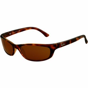 Ray-Ban Women's Gradient  RB4115-642/73-57 Brown Rectangle Sunglasses