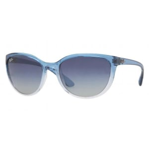 Emma Gradient Frame Cateye Glasses : Ray-Ban Womens Gradient Emma RB4167-848/4L-59 Blue Cat ...