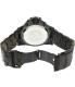 Precimax Men's Carbon Pro PX12202 Black Stainless-Steel Quartz Watch - Back Image Swatch