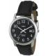 Timex Men's Easy Reader T2N370 Black Calf Skin Analog Quartz Watch - Main Image Swatch