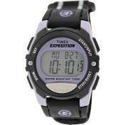 Timex Women's T49658 Black Cloth Quartz Watch