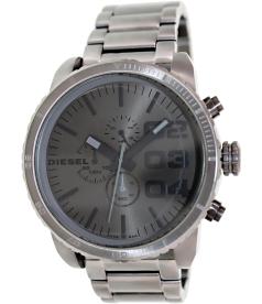 Diesel Men's DZ4215 Grey Stainless-Steel Quartz Watch