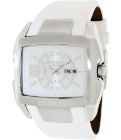 Diesel Men's DZ4247 Silver Leather Quartz Watch