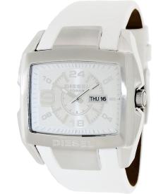 Diesel Men's DZ4247 Silver Leather Quartz Watch