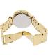 Michael Kors Women's Parker MK5354 Gold Stainless-Steel Quartz Watch - Back Image Swatch