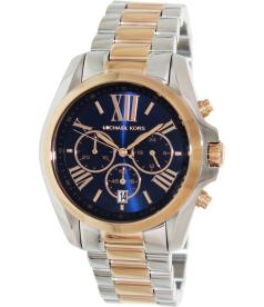 Michael Kors Women's MK5606 Blue Stainless-Steel Quartz Watch
