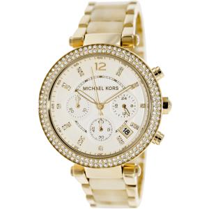 Michael Kors Women's Parker MK5632 Gold Stainless-Steel Quartz Watch