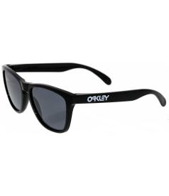 Oakley Men's Gradient Frogskins 24-306 Black Wayfarer Sunglasses