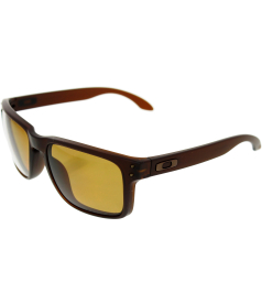 Oakley Men's Polarized Holbrook OO9102-03 Brown Square Sunglasses