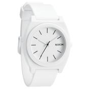 Nixon Men's Time Teller A1191030 White Polyurethane Analog Quartz Watch