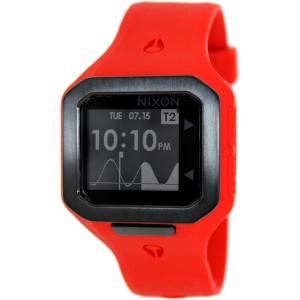 Nixon Men's A316200 Red Silicone Quartz Watch