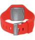 Nixon Men's A316200 Red Silicone Quartz Watch - Back Image Swatch