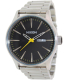 Nixon Men's Sentry SS A3561227 Silver Stainless-Steel Quartz Watch - Main Image Swatch