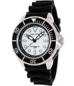 Nautica Men's Sport N19583G Carbon-Fiber Resin Quartz Watch