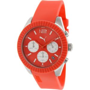 Puma Women's Motor PU102812002 Red Silicone Quartz Watch