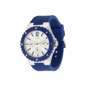 Guess Women's U10657L3 White Silicone Quartz Watch
