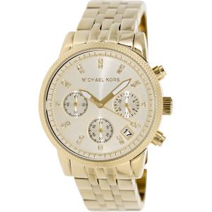 Michael Kors Women's Ritz MK5676 Gold Stainless-Steel Quartz Watch