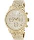 Michael Kors Women's Ritz MK5676 Gold Stainless-Steel Quartz Watch - Main Image Swatch