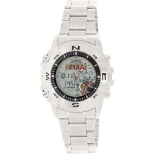 Casio Men's Core AMW704D-7AV Silver Stainless-Steel Quartz Watch