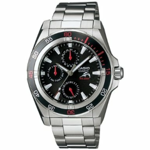 Casio Men's Edifice EFB300D-1AV Silver Stainless-Steel Quartz Watch