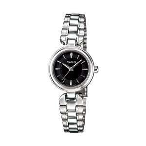 Casio Women's Core LTP1353D-1A Silver Stainless-Steel Quartz Watch