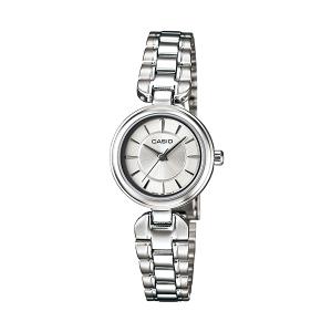 Casio Women's Core LTP1353D-7A Silver Stainless-Steel Quartz Watch