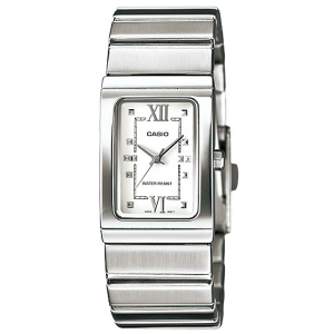 Casio Women's Core LTP1356D-7A Silver Stainless-Steel Quartz Watch