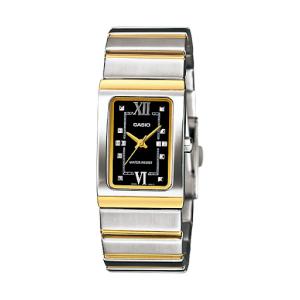 Casio Women's Core LTP1356SG-1A Black Stainless-Steel Quartz Watch