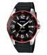 Casio Men's Core MTP1346-1AV Black Resin Quartz Watch - Main Image Swatch