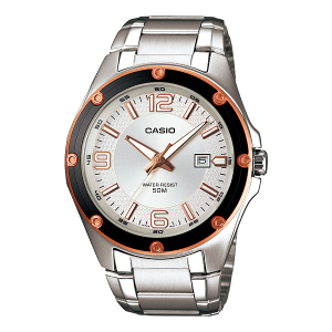 Casio Men's Core MTP1346D-7A2V Silver Stainless-Steel Quartz Watch