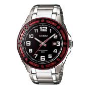 Casio Men's Core MTP1347D-1AV Black Stainless-Steel Quartz Watch