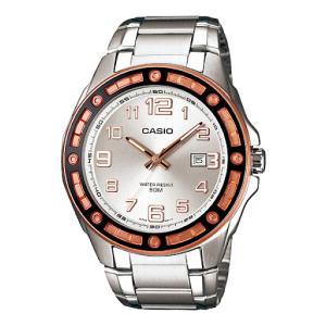 Casio Men's Core MTP1347D-7AV Silver Stainless-Steel Quartz Watch