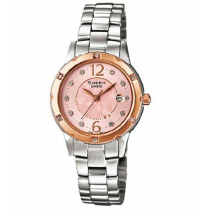 Casio Women's Sheen SHE4021SG-4A Silver Stainless-Steel Quartz Watch