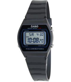 Casio Men's Core W202-1AV Black Resin Quartz Watch