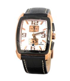 Festina Men's Sahara F16356/1 White Leather Quartz Watch