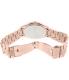 Michael Kors Women's Runway MK3181 Rose Gold Stainless-Steel Quartz Watch - Back Image Swatch