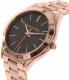 Michael Kors Women's Runway MK3181 Rose Gold Stainless-Steel Quartz Watch - Side Image Swatch