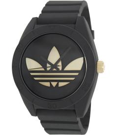 Adidas Men's Santiago ADH2712 Black Silicone Quartz Watch