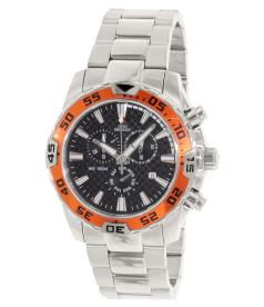 Swiss Precimax Men's Formula-7 Pro SP12150 Black Stainless-Steel Swiss Chronograph Watch