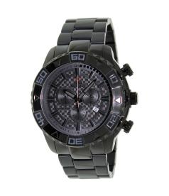 Swiss Precimax Men's Valor Elite SP12208 Grey Stainless-Steel Swiss Chronograph Watch