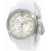 Izod Men's IZS2/9.WHITE White Rubber Quartz Watch